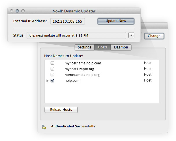 how to create dynamic ip address